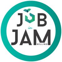 Logo JOB in JAM_con crisalide V
